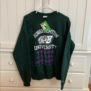 Brand new Binghamton University pullover!